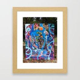 journeying Framed Art Print
