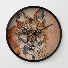 Malvern Fox Wall Clock