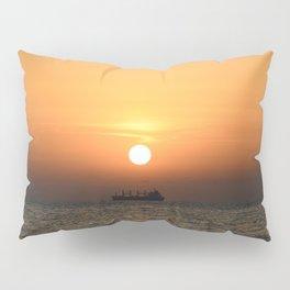 Heart in Sunset 1 Pillow Sham