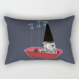Liquid Moon Rectangular Pillow