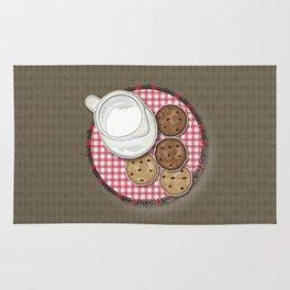 Milk and Cookies Rug