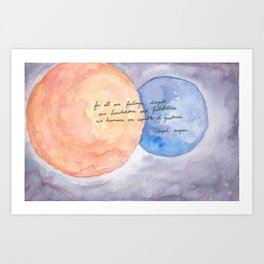We are Capable of Greatness Art Print