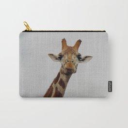Giraffe Gaze Carry-All Pouch