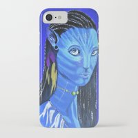 avatar iPhone & iPod Cases featuring Avatar by maggs326