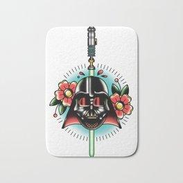 Vader Tattoo Flash Bath Mat