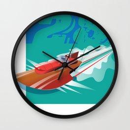 Still in Motion Wall Clock