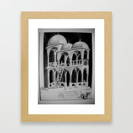Escher Weenies Framed Art Print