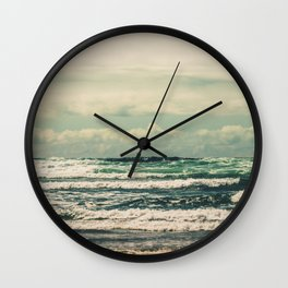 Warm Tide Wall Clock