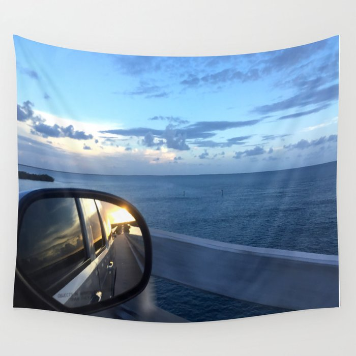 No Looking Back Wall Tapestry