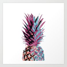 Pop Pineapple Art Print