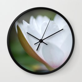 Nymphaea no. 4 Wall Clock