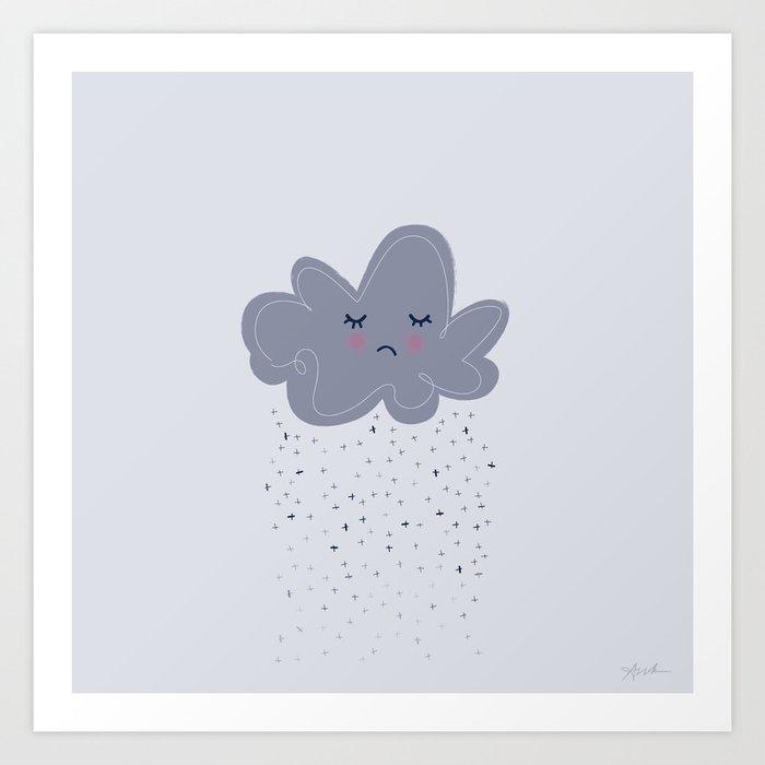 Herman The Cloud Art Print