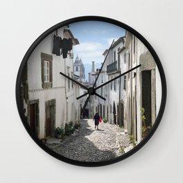 Castelo de Vide street Wall Clock
