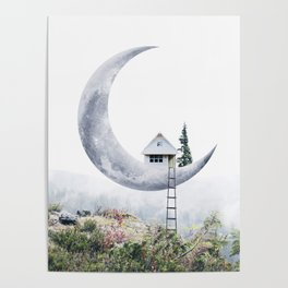 Moon House Poster