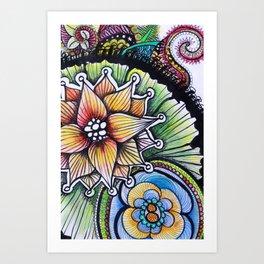 Floralita Art Print
