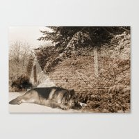 german Canvas Prints featuring German Shepherd by Erika Kaisersot