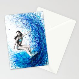 Thoughts and Waves Stationery Cards