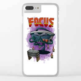 Focus Clear iPhone Case