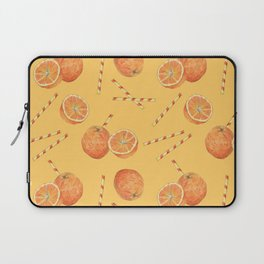 orange juice _ light Laptop Sleeve