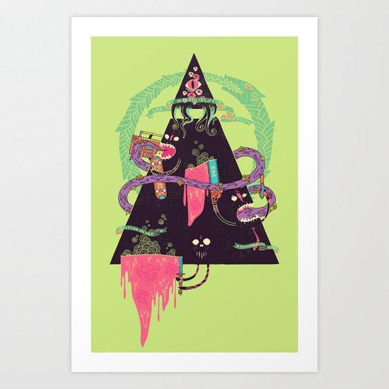 Ourobouros Art Print