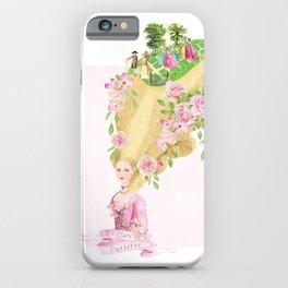 Marie Antoinette Coiffure Parterre iPhone Case