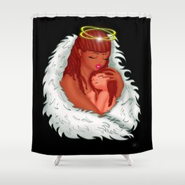 Angel's Love Shower Curtain