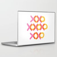 xoxo Laptop & iPad Skins featuring XOXO by ghennah