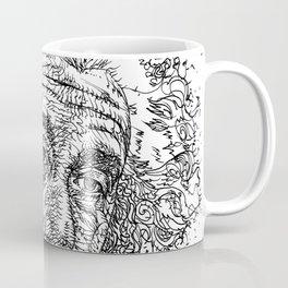 ALBERT EINSTEIN ink portrait.2 Coffee Mug