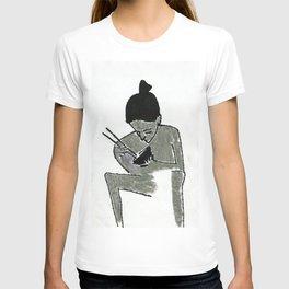 eating T-shirt