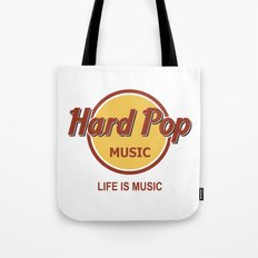 Hard Pop Music Tote Bag