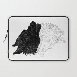 Split Personality Laptop Sleeve