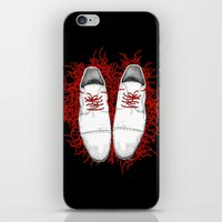 shoes iPhone & iPod Skins featuring Shoes by Tamar Kasparian