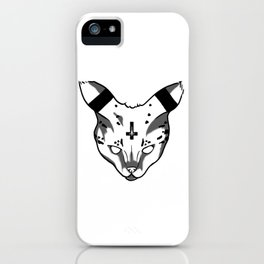 Demon Kitty iPhone Case