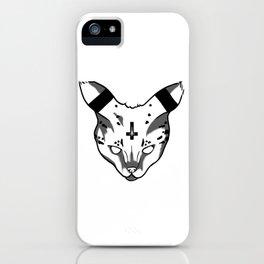 Demon Kitty iPhone Case