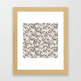 Beech Mushrooms Framed Art Print