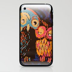 Psychedelic Owls iPhone & iPod Skin