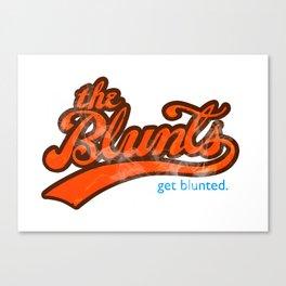 The Blunts Classic Orange Canvas Print