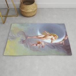 "Luis Ricardo Falero ""The Planet Venus"" Rug"
