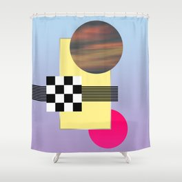Eighty Shower Curtain