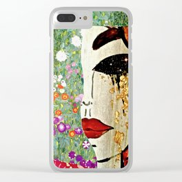Klimt Remix Clear iPhone Case