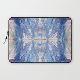 Colorful Water Splash Exotica by annmariescreations Laptop Sleeve