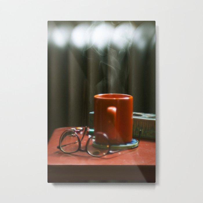 the coffee Metal Print