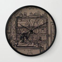 Busy Bedroom Wall Clock