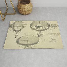 Mathieu's Airship Project Rug