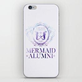 Mermaid Alumni iPhone Skin