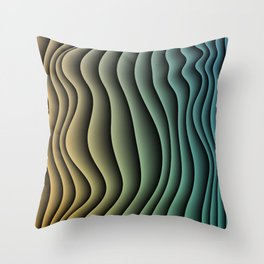 Split Infinities Throw Pillow