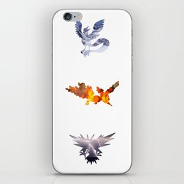 The 3 Legendary Birds iPhone Skin