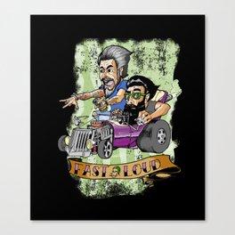 Motor Madness Canvas Print