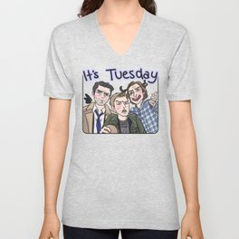 It's Tuesday Unisex V-Neck