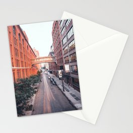 The Highline street Stationery Cards
